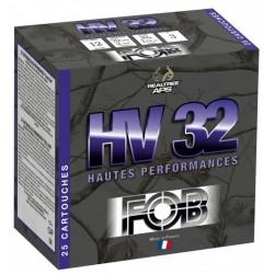 Cartouches Fob ZH Acier haute performance - Cal. 12/70 ZH32HP HAUT PERF. Cal.12, 32 gr, N°4A-MFA7604