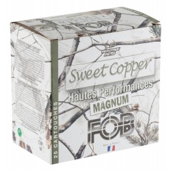 Cartouches Fob Sweet Copper Magnum 40 - Cal. 12/76 FOB SWEET COPPER cal 12-76 N° Plomb 2-MFA7912