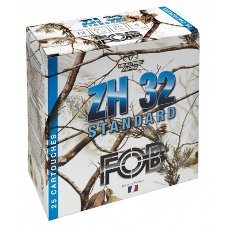 Cartouches Fob ZH 32 Acier Standard Cal. 12/70