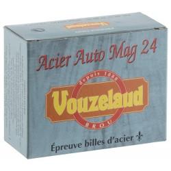 Cartouches Vouzelaud - Acier Auto Mag 24 - cal. 20/76