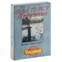Cartouches Vouzelaud - Acier 70 ACP Hautes Performances - Cal. 20/70