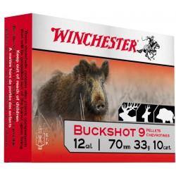 Cartouches Winchester Chevrotines buckshot Cal. 12/70