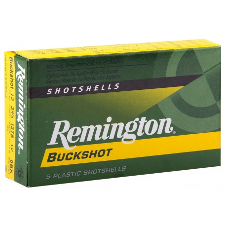 Cartouches Remington Chevrotines Cal. 12/70