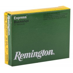 Cartouches Remington Suprême chevrotines Magnum - Cal. 12/76 ou 12/89 Remington SUPREME Chevrotine 12-89,culot de 20, 18 grains-