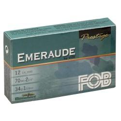 Cartouche Fob émeraude à balle Brenneke - Cal. 12/70-MF9112