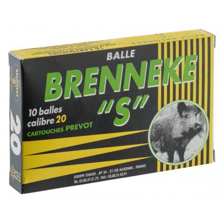 Prevot balles Brenneke-s Cal. 20