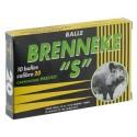 Cartouches Prevot à balle Brenneke-S - Cal. 20 BRENNEKE S Cal.20-76-MP521