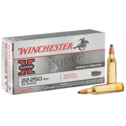 Munition grande chasse Winchester Cal. 22-250 REM
