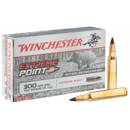 Munitions Winchester cal . 300 Win - grande chasse