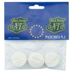 Pochettes de patchs ronds Pedersoli en coton
