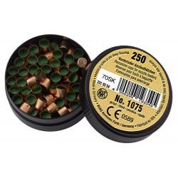 Boîte de 250 amorces cannelées (poudre Noire)