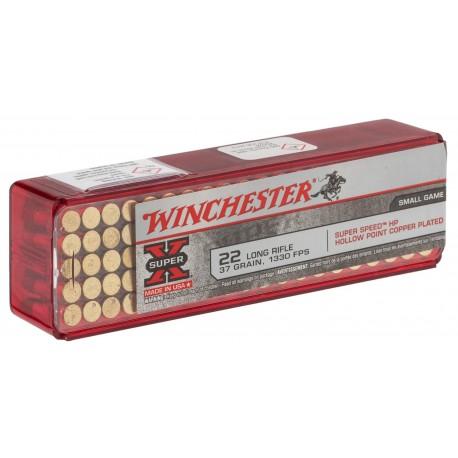 Cartouches 22 LR Winchester Super X