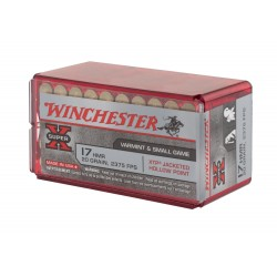 17 HMR - cartouche Winchester