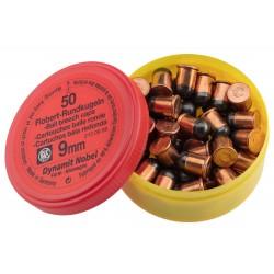 Boîte de 50 cartouches 9 mm Flobert balle ronde - RWS