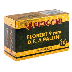 Cartouches 9 mm Flobert à grenaille de plomb Numéro 7,5-MD207