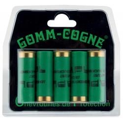 Cartouches de chevrotines caoutchouc Gomm-Cogne - Cal.12/67-MD422