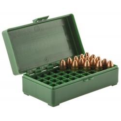 Boîte mégaline de rangement 50 munitions 9 x 19