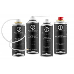 Boîte de 4 produits nettoyants triple effets - Schmeisser