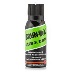 Lubrifiant Lub & Cor en aérosol 100 ml - Brunox