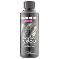 Bronzage à froid Black Metal G en 250 ml