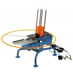 Lanceur de plateaux électrique (12 v) pour ball trap