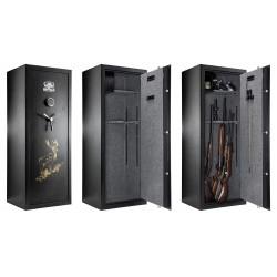 Coffre digital premium 18 armes à combinaison - Buffalo River-A558002