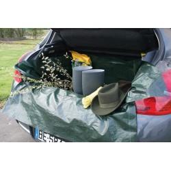Bâche souple de protection pour coffre avec rabats-A57320
