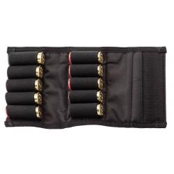 Etui nylon noir pour 10 cartouches-CU9620