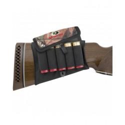 Cartouchière de crosse fusil avec rabat 5 cartouches - Mossy Oak
