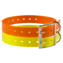 Collier pour chien en polyuréthane - Country Collier jaune-CH5221