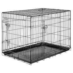 Cages pliantes de transport pour chien