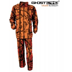 Tenue de pluie Ghost Camo Forest fluo - Percussion