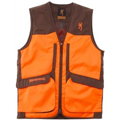 Gilet Browning Upland Hunter HI-VIS marron/orange