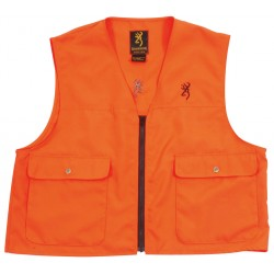 Gilet Browning de sécurité X-treme Tracker orange fluo
