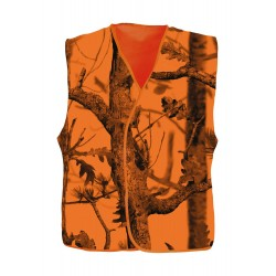 Gilet de traque Ghost Camo Forest fluo - Percussion