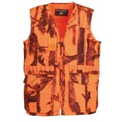 Gilet de chasse Stronger Ghost Camo Forest fluo - Percussion