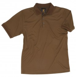 Polo Browning Savannah Ripstop dark olive Polo Savannah Ripstop dark olive - T.S-VC47380