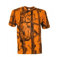 T-shirt chasse Ghost Camo Forest Fluo - Percussion T-shirtT-shirtT-shirt chasse GHOST CAMO-VC71879