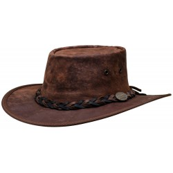 Chapeau Squashy KANGAROO marron - Barmah Hats