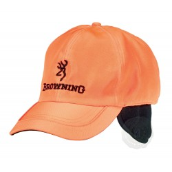 Casquette Browning Winter Fleece orange