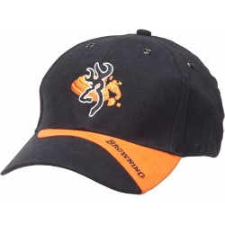 Casquette Browning Claybuster noir/orange
