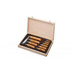 Coffret 10 couteaux collection Opinel-LC265