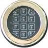 Option serrure électronique (avec clés d'urgences)
