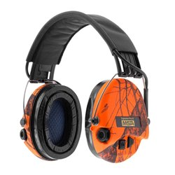 Casque audio amplifié MSA SUPREME PRO X Camo Orange-SOR502