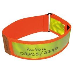 Niggeloh Collier Réfléchissant Jaune/Orange 101100028 NIG Collier Réflective Jaune / Orange S/M 40-60 cm-N2151