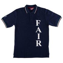 Polo Fair manches courtes Bleu