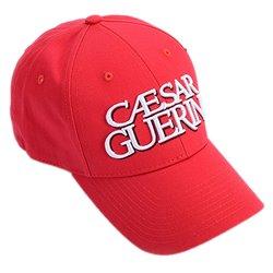 Casquette CAESAR GUERINI Rouge-VCAS3