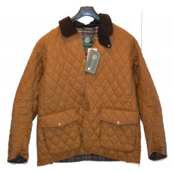 VESTE Taille L MATELASSEE HUILEE CAMEL STAND