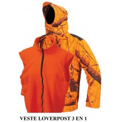 VESTE REALTREE ORANGE 3X1 LG01544 : TAILLE - M