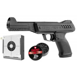 Pistolet GAMO P900 Gunset noir cal. 4,5 mm